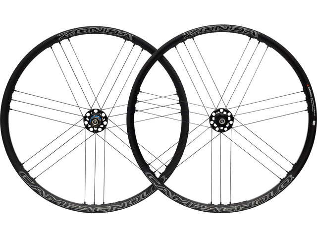 "CAMPAGNOLO Zonda C17 Disc Wheelset 28"" 6-hole Campagnolo 9x100 / 10x135mm black"